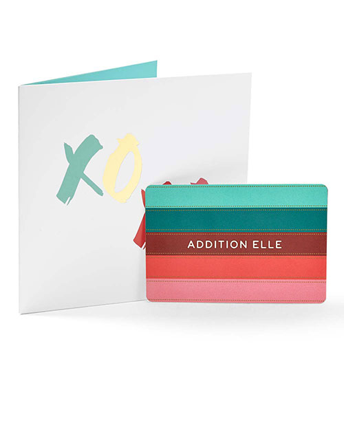 Addition Elle Gift Card - XOXO